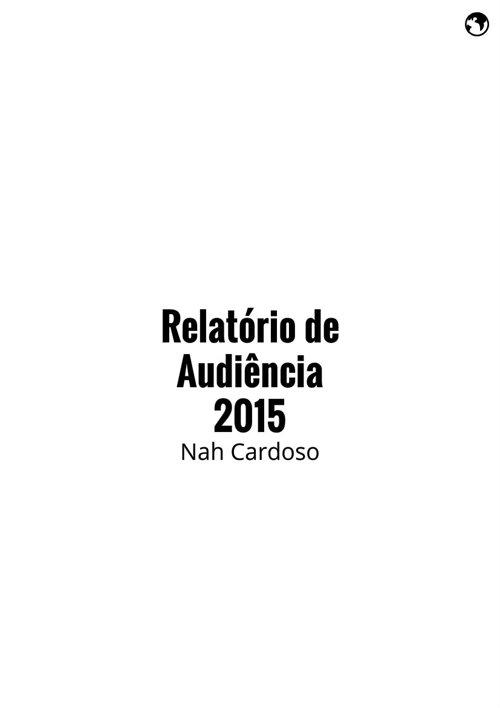 Relatório de Audiencia