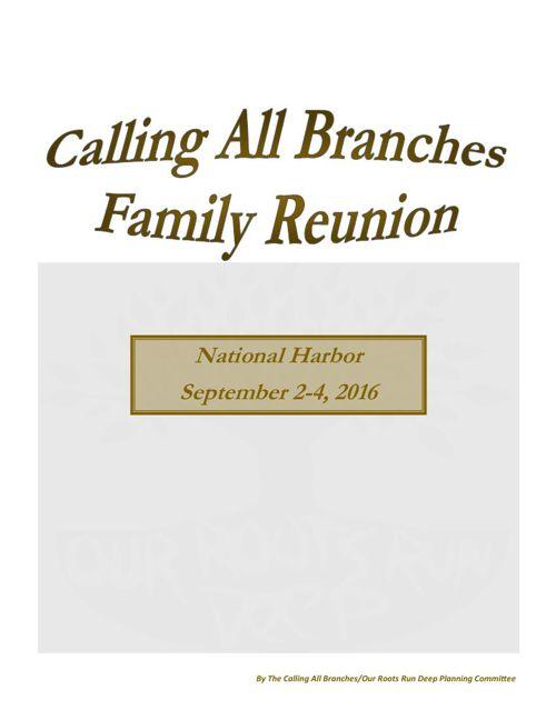 Registration Reunion Packet