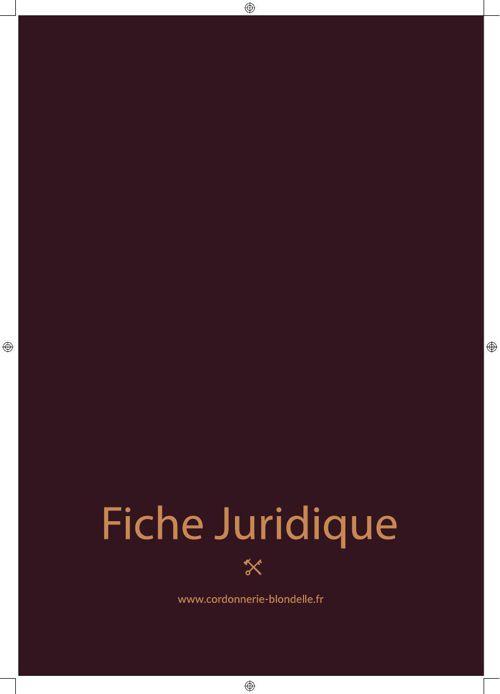 Franchise du Cuir - Fiche Juridique- essai Ebook