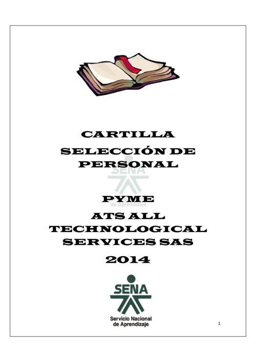 Cartilla Digital - Selección