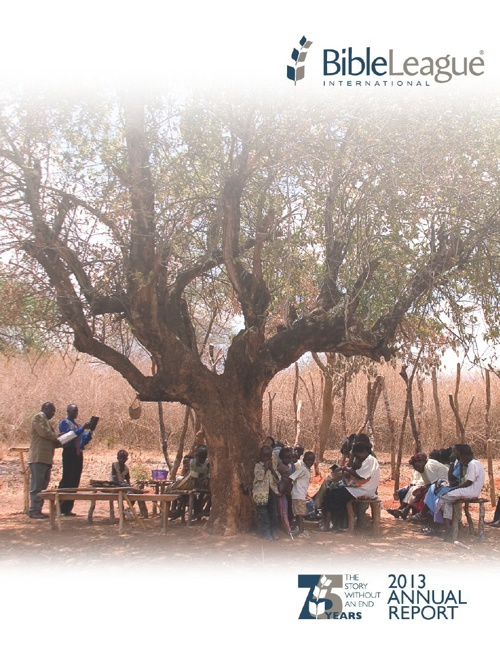 2013 Annual Report - Bible League International