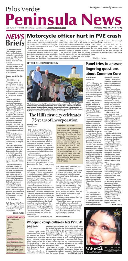 Peninsula News 5-1-14