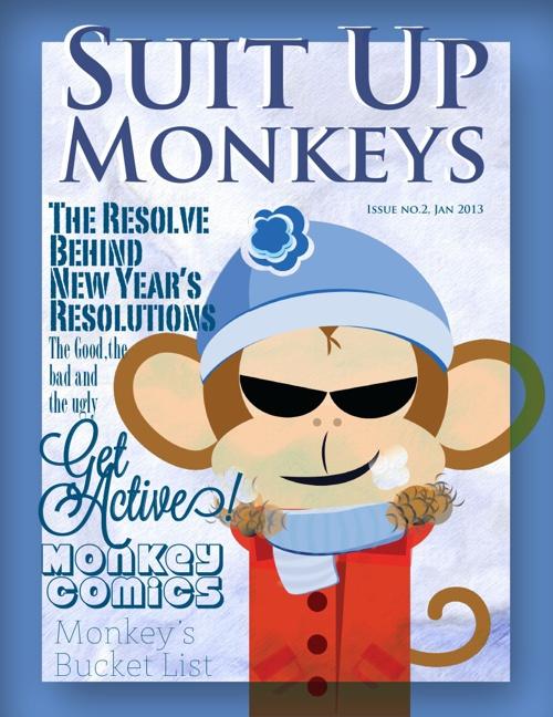 Suit Up Monkeys January