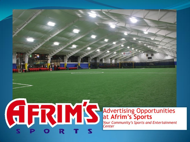 Afrim's Sports Advertising Booklet