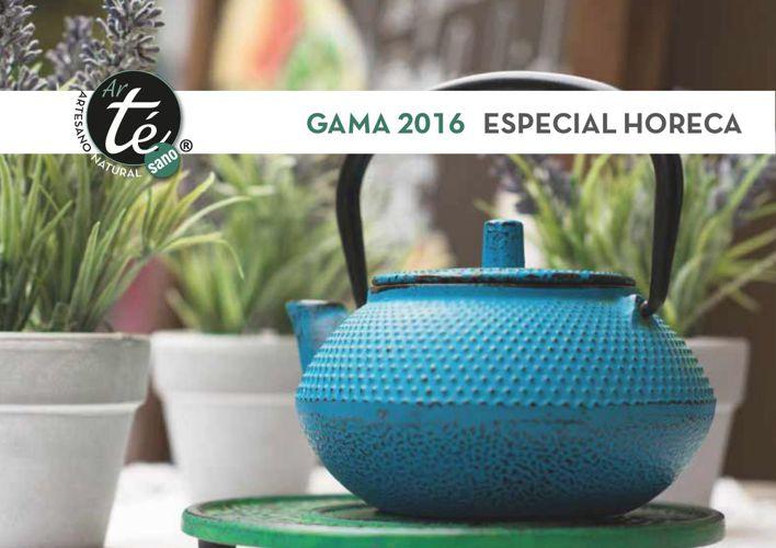 GAMA DE PRODUCTOS 2016 DE ARTESANO NATURAL