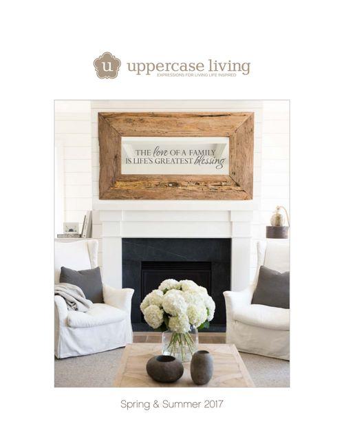 2017 Spring Catalog Uppercase Living