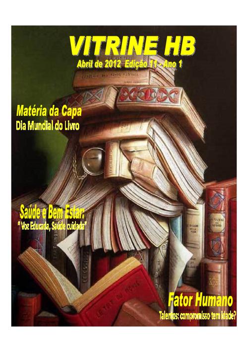 Revista Vitrine HB Edição Abril