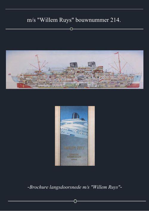 "-Brochure ""Willem Ruys""-"