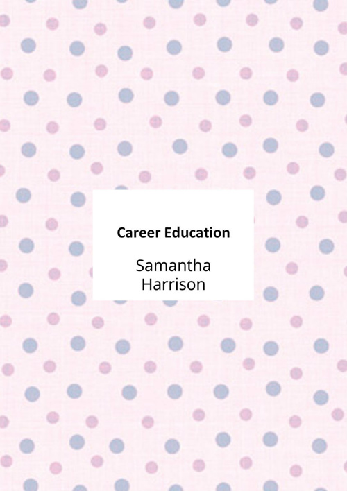 Career Education Flipbook