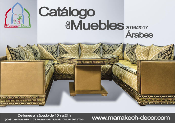 Catálogo de Muebles Árabes Marrakech Decor 2016/2017