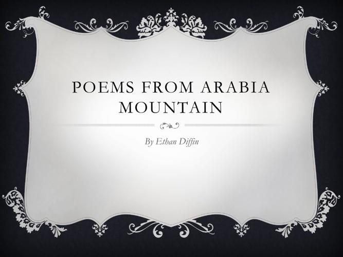 arabia poems