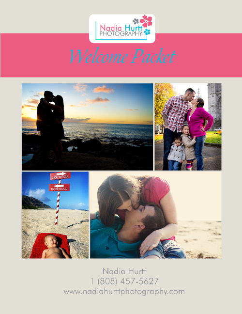 Nadia Hurtt Photography Welcome Guide