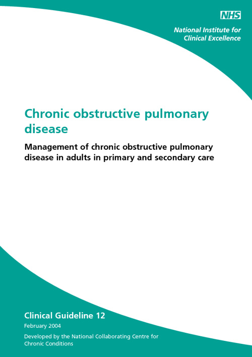 COPD NICE Guideline