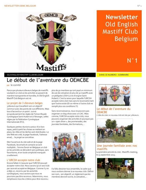 newsletter Oemcb FR