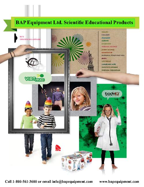 BAP Equipment Ltd. Scientific Educational Catalog
