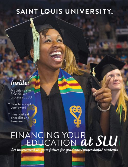 Financial Aid Booklet - Graduate/Professional (2018)