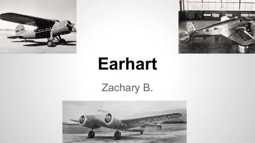 Earhart's Story