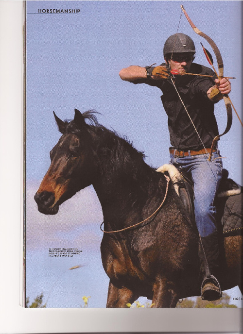 Mounted Archery - Horse Quarterly