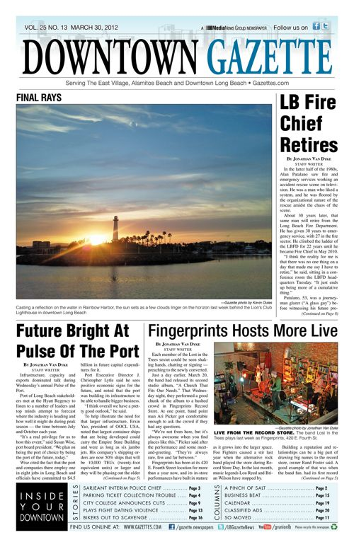 Downtown Gazette  |  March 30, 2012