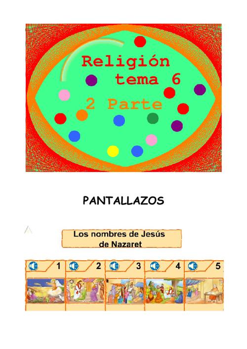 religión 2º parte