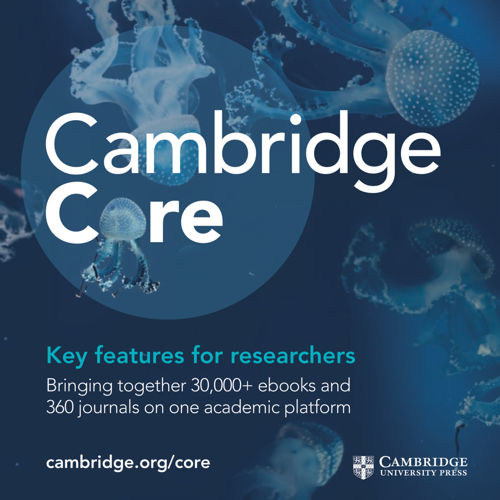 Cambridge Core features for researchers