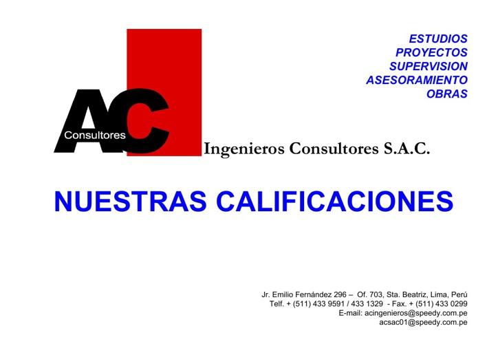 AC Ingenieros Consultores S.A.C.