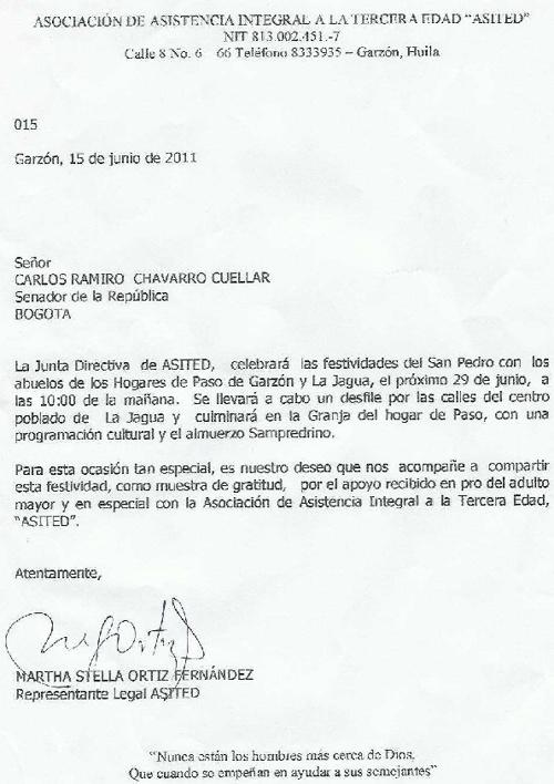"""Asociacion de Asistencia Integral a la Tercera Edad """"ASITED"""""""