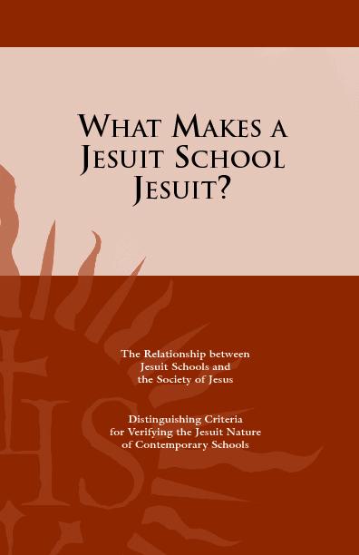 What Makes a Jesuit School