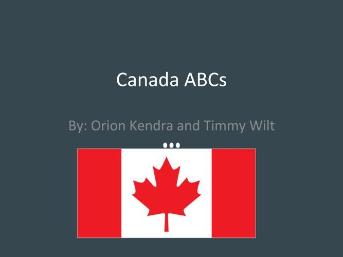 Canada ABCs