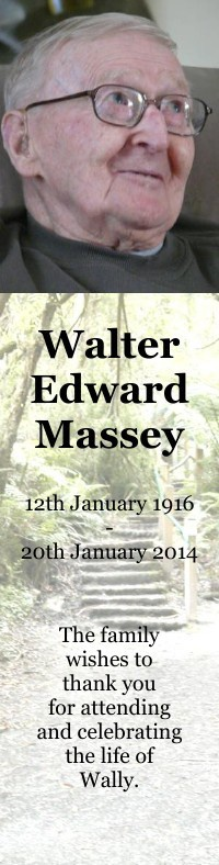 Bookmark for Walter Massey