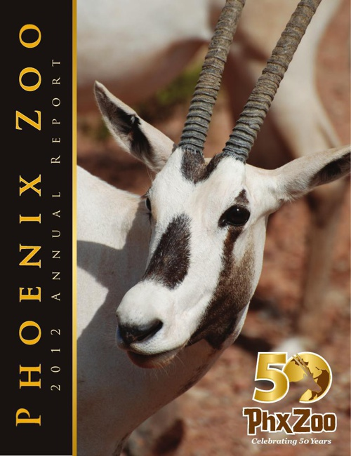 Phoenix Zoo 2012 Annual Report