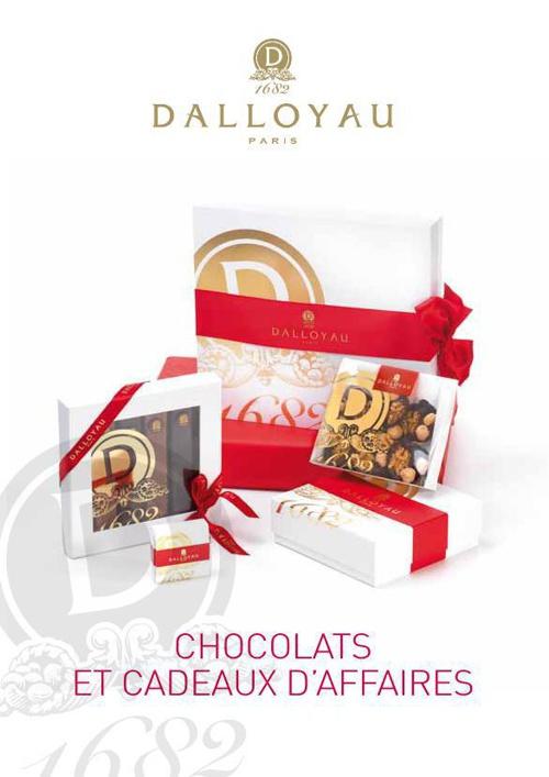 Carte Chocolats et cadeaux d'affaires 2014-2015