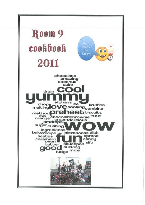 Room 9 cook book