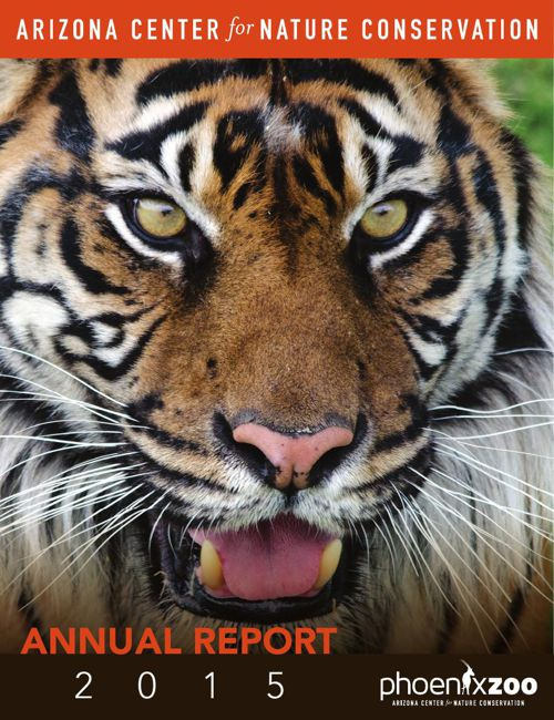 Phoenix Zoo 2015 Annual Report