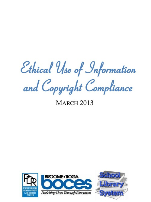 Copyright and Ethical Use of Information