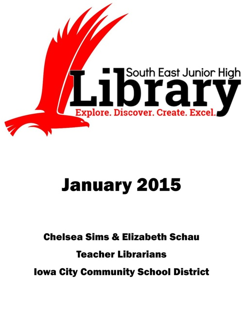 Discover South East Library - January 2015 Newsletter