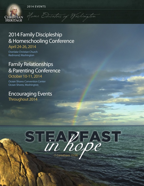 2014 Christian Heritage Events Brochure