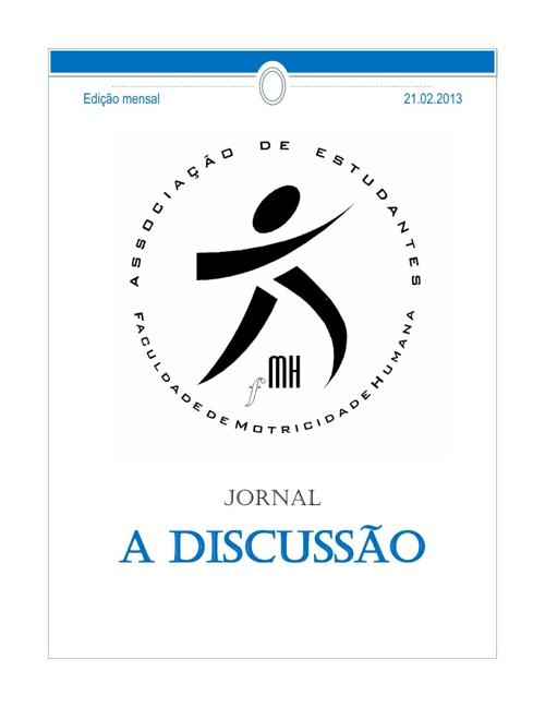 Jornal A Discussão AEFMH - Fevereiro