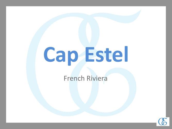 Présentation Cap Estel 2016