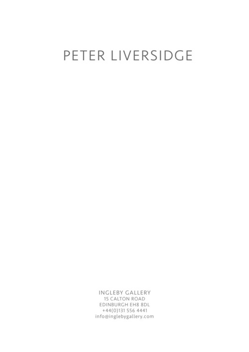Peter Liversidge - Realised Proposals