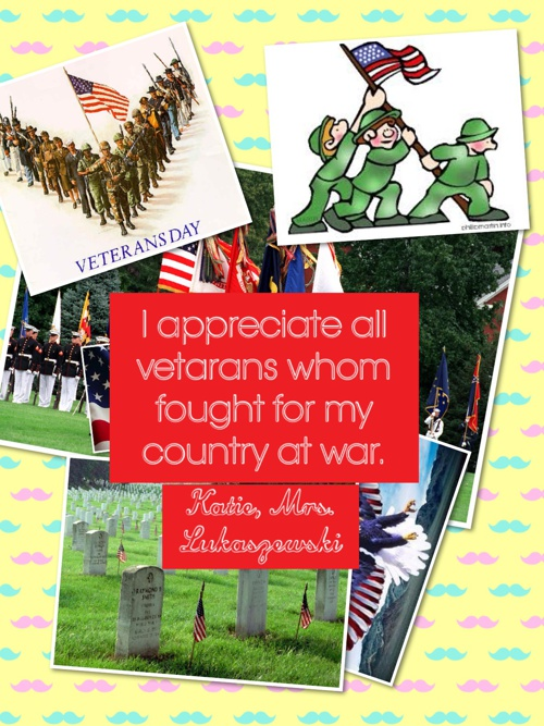 Mrs. Lukaszewski's Class Part 2-Veteran's Day 2014