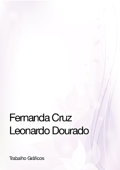 Fernanda Cruz & Leonardo Dourado - Comunicação Visual