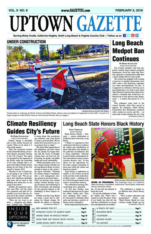Uptown Gazette  |  February 5, 2016