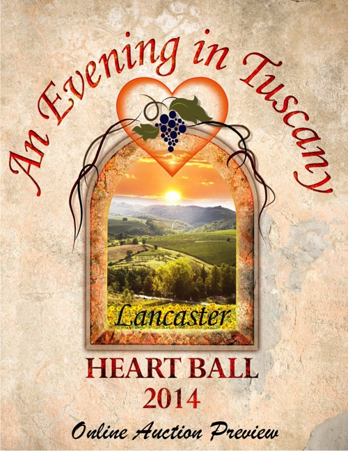 2014 Lancaster Heart Ball Online Auction Preview