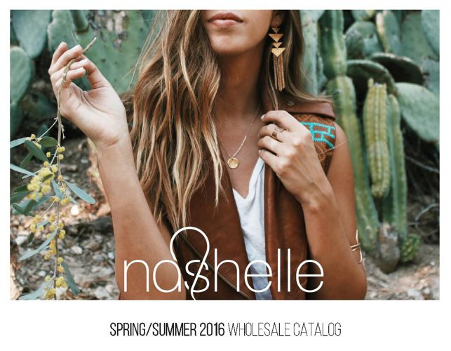 Nashelle Spring/Summer 2016 Wholesale Catalog