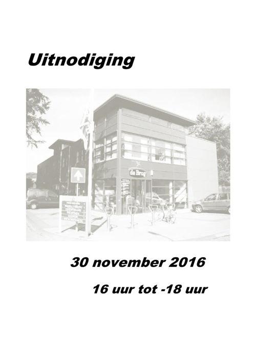 uitnodiging Arie 30-11-2016