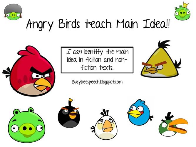Angry Birds Main Idea