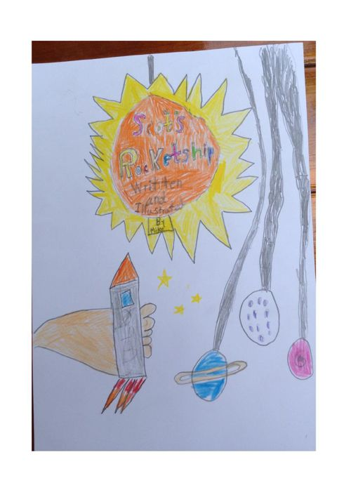 Scot's Rocketship by Mike