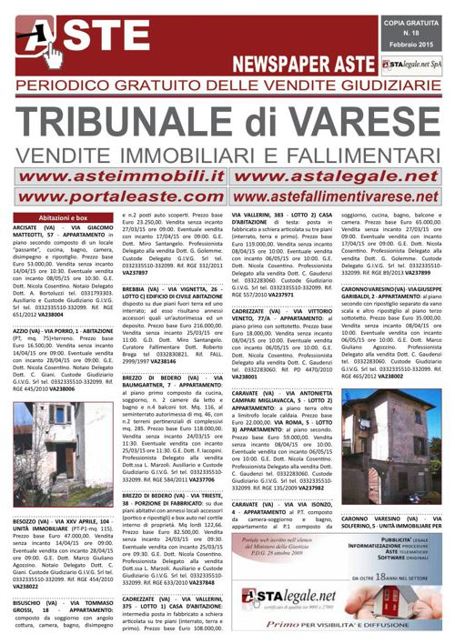 Varese febbraio 2015