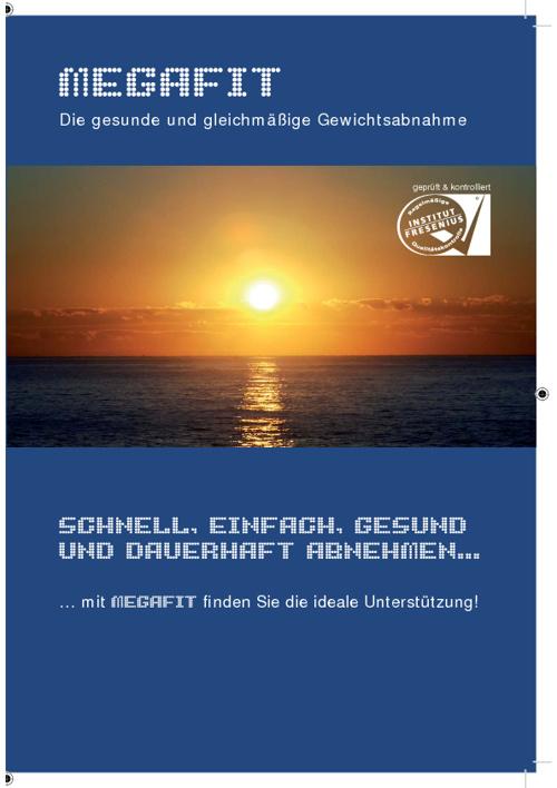 Megafit Broschüre